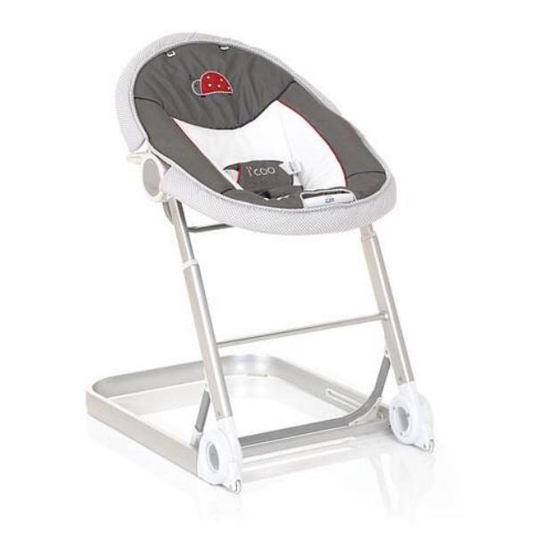 Шезлонг для новорожденных на колесиках