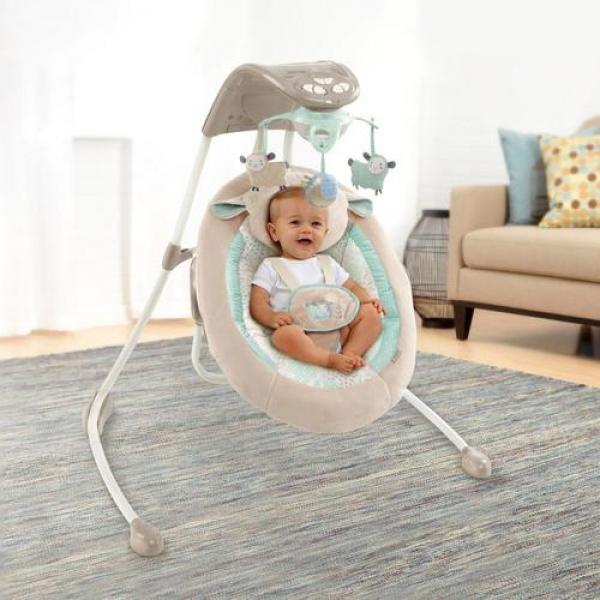 Шезлонг качалка для новорожденных купить ижевск