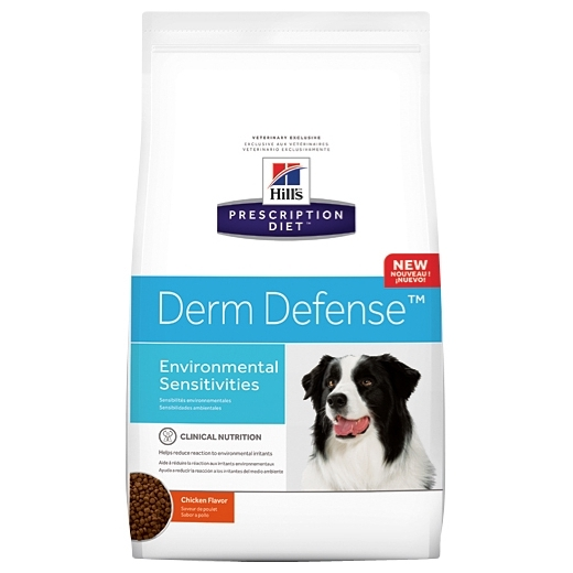 Hill's Prescription Diet Canine Derm Defense dry (12 кг)