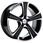 Spath SP18 7x16/5x114.3 D67.1 ET38 Black Polished