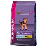 Eukanuba (15 кг) Puppy Dry Dog Food For Large Breed Chicken