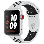 Apple Watch Series 3 Cellular 38mm Aluminum Case with Nike Sport Band
