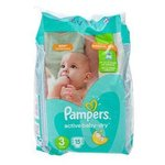 Pampers подгузники Active Baby-Dry 3 (5-9 кг) 15 шт.
