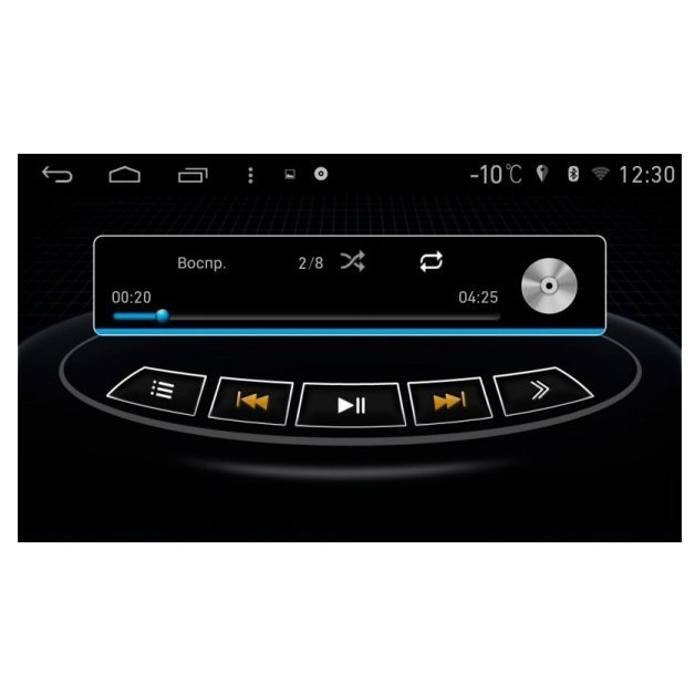 FarCar s160 Toyota Camry 2014+ на Android (M466)