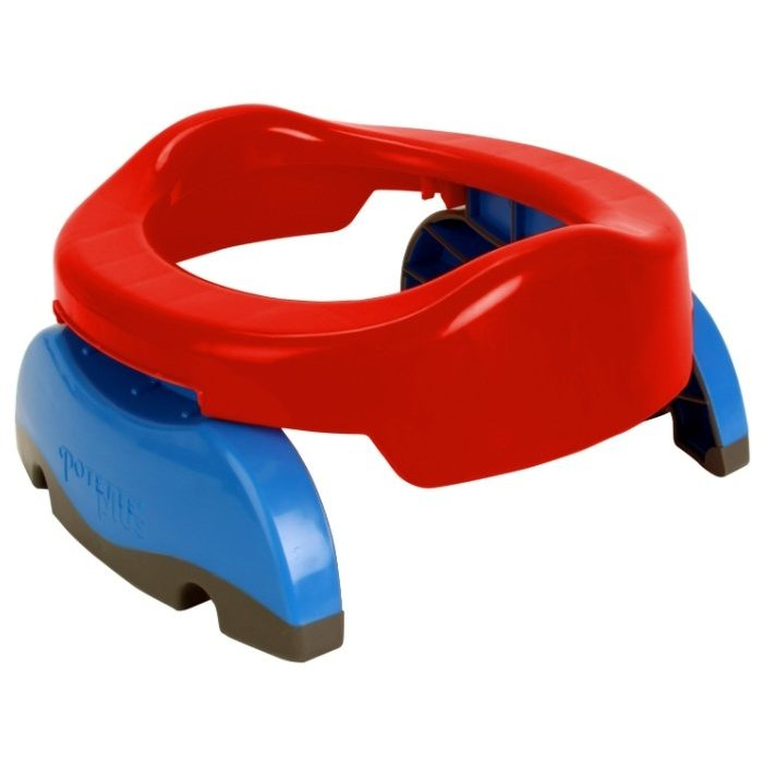 Potette Plus горшок 2 in 1 Portable Potty & Trainer Seat