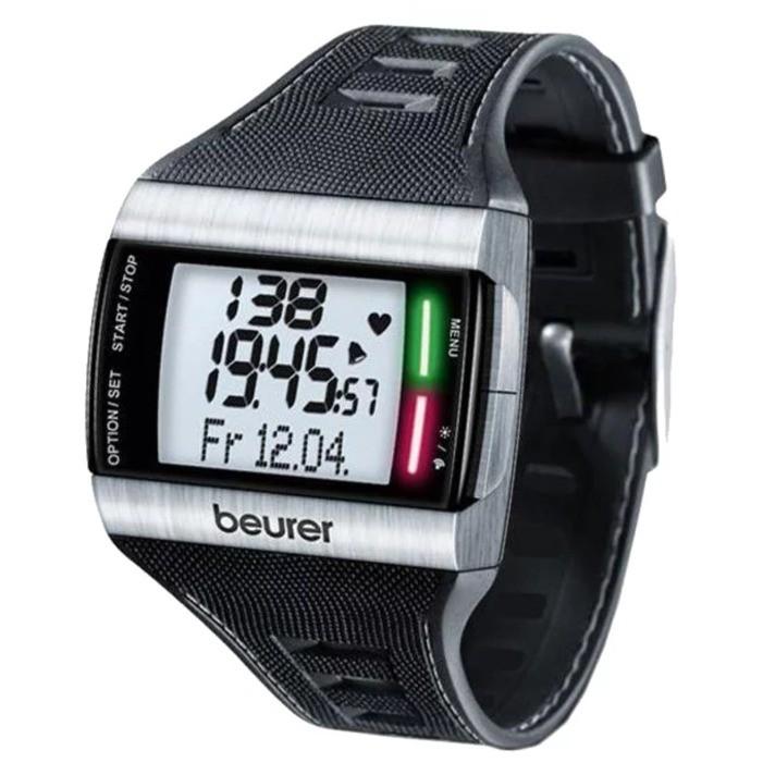 Спортивные часы с пульсометром и шагомером обзор.