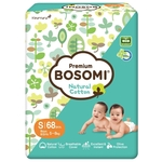 Bosomi Natural Cotton New S (5-8 кг) 68 шт.