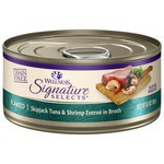 Влажный корм Wellness (0.079 кг) 1 шт. Cat CORE Signature Selects Flaked Skipjack Tuna with Shrimp Entree in Broth