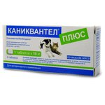 Euracon Pharma Каниквантел Плюс для собак и кошек (6 таблеток)