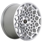 Колесный диск Vissol F-913 8.5x19/5x120 D74.1 ET38 matte silver / machined face
