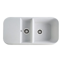MARMORIN OPAL 1.5 bowl sink with draining board