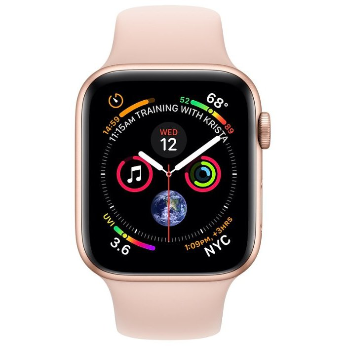 Часы Apple Watch Series 4 GPS + Cellular 44 mm Aluminum Case with Sport Band