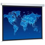Рулонный матовый белый экран cactus Wallscreen CS-PSW-149x265