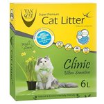 Наполнитель Van Cat Clinic Ultra Sensitive (6 л/5,1 кг)