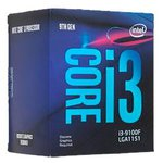 Процессор Intel Core i3-9100F Coffee Lake (3600MHz, LGA1151 v2, L3 6144Kb)