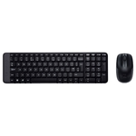 Logitech Wireless Combo MK220 Black USB