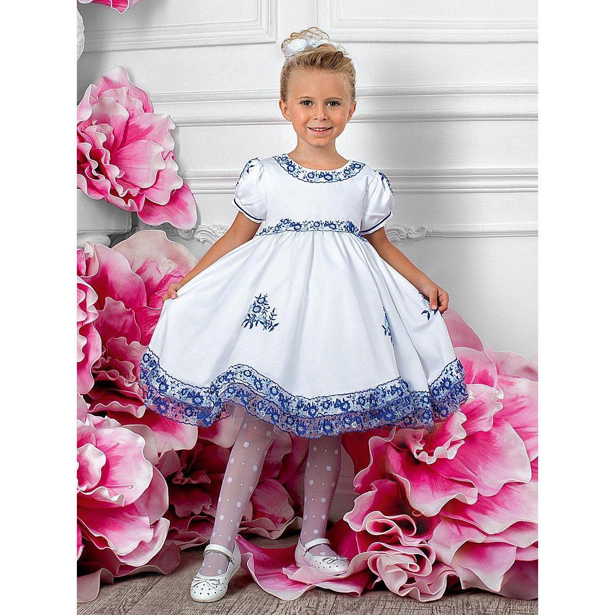 Нарядные платья детям фото