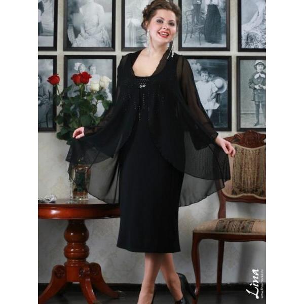 Платье с кардиганом сшить 768