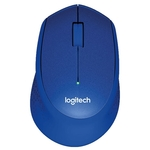 Logitech M330 SILENT PLUS Blue USB