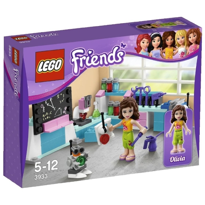 LEGO Friends 3933 Лаборатория Оливии