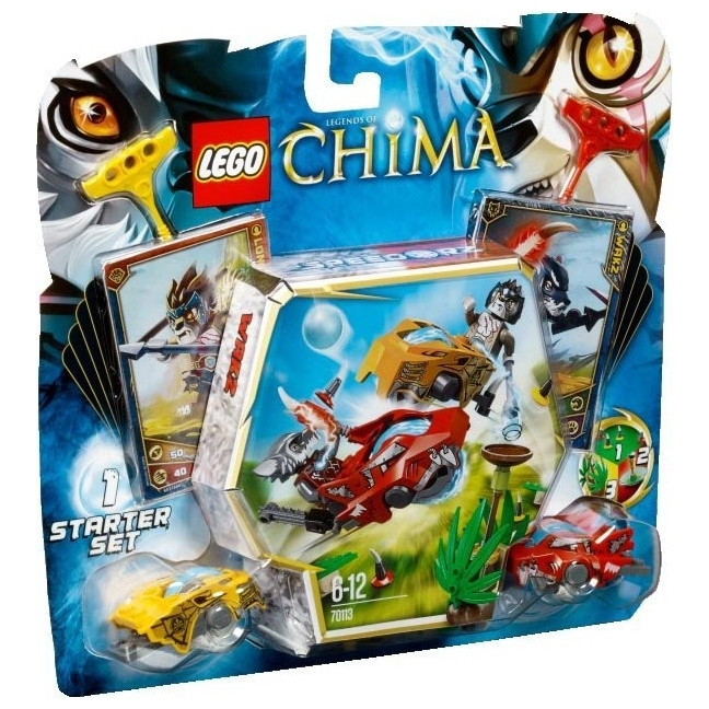 LEGO Legends of Chima 70113 Бойцы ЧИ
