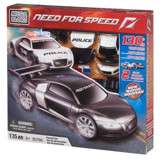 Mega Bloks Need for Speed 95766 Pursuit Set (Audi)
