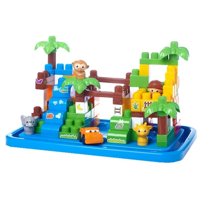 Mega Bloks First Builders 6628 Сафари