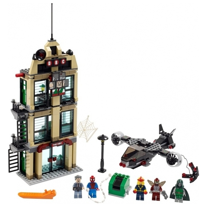LEGO Super Heroes 76005 Daily Bugle Showdown