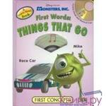 Monsters, Inc. First Words: Things That Go (+ CD)