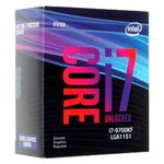 Процессор Intel Core i7-9700KF Coffee Lake (3600MHz, LGA1151 v2, L3 12288Kb)