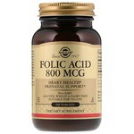 SOLGAR Folic Acid 800 мкг таб. №250