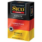 Презервативы Sico Набор Safety + Sensitive + Ribbed
