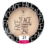 TF Cosmetics Пудра для лица Face To Face Foundation Powder 24 SPF 10