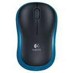 Logitech Wireless Mouse M185 Blue-Black USB