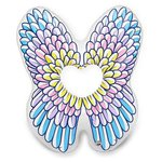 Круг BigMouth Giant Angel Wings Pool Float, BMPF-029 134x154 см